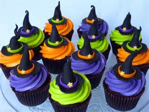 halloween muffins recipe witch hat cupcakes