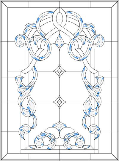 Southwestern Designs 45 Simple Stained Glass Patterns Guide Patterns