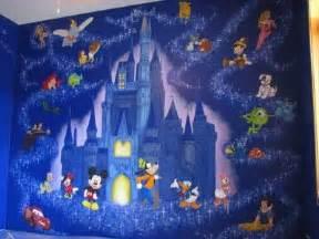 Disney Wall Murals Wonderful Disney Cartoon Movies Murals Theme In Modern