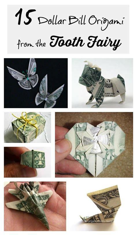 tutorial origami money 15 tutorials for dollar bill origami tooth fairy gifts