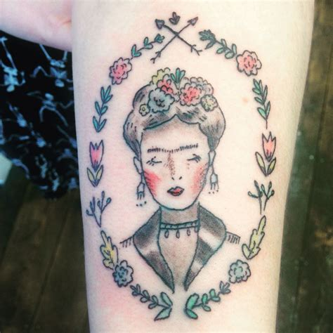 frida kahlo tattoos frida kahlo by lapin lou holla