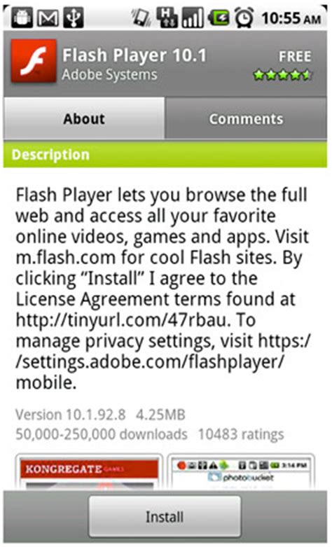 flash version 10 1 for android adobe releases flash player 10 1 for nexus one