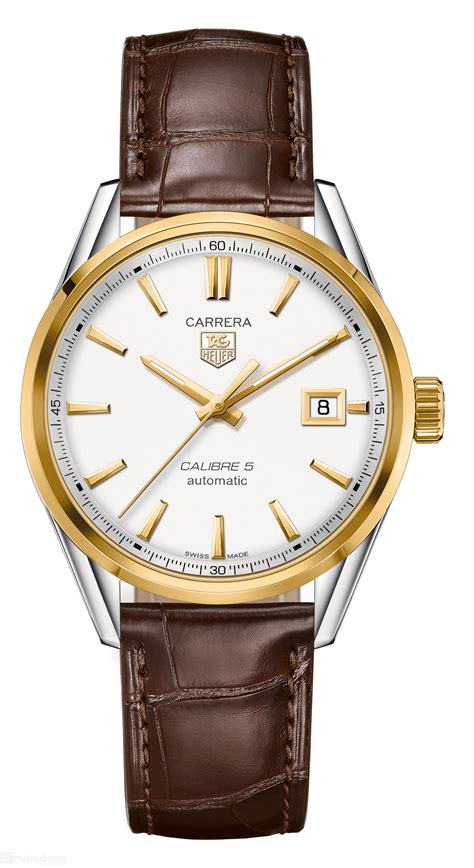 Tagheuer Calibre 16 Rosegold Blue Brown Leather tag heuer tag heuer calibre 5 steel yellow gold war215b fc6181 find trusted