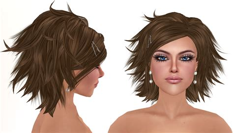 style truth hair new truth hair 171 my style in second life