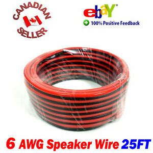 ft  high definition  gauge  awg speaker wire cable