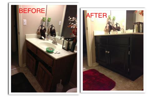 how to refinish a bathroom vanity refinishing my guest bathroom vanity diy ista kelli