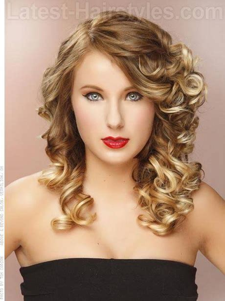 formal hairstyles with curls curly formal hairstyles