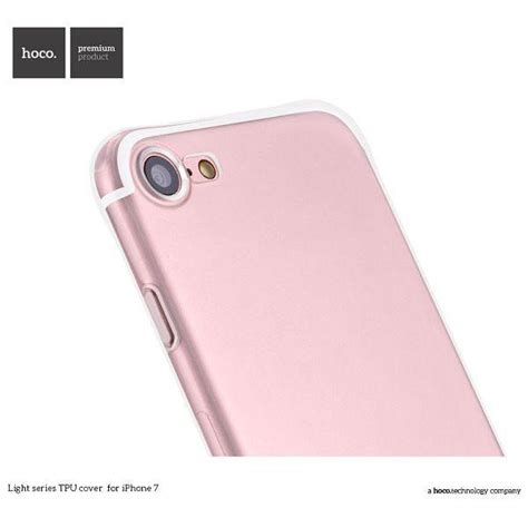 Tempered Glass Iphone 7 Warna hoco light series tpu tempered glass for iphone 7 8 transparent jakartanotebook