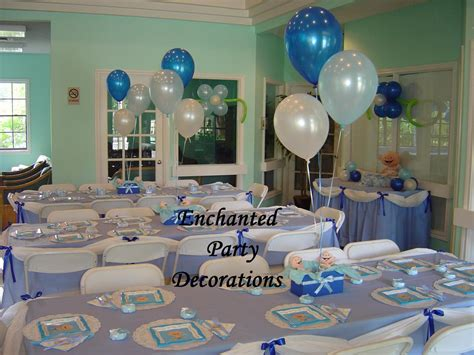 baby shower decorations table baby shower
