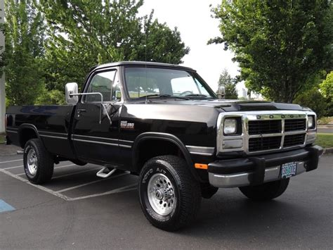 1991 dodge ram 250 1991 dodge ram 250 le 4x4 5 9l turbo diesel manual