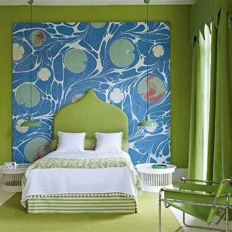 green and blue bedroom green and blue bedroom eclectic designs headboard