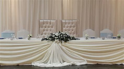 table drapes for weddings convention table drape pictures to pin on