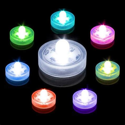 Waterproof Lights For Vases by New Submersible Led Light Waterproof Water Wedding