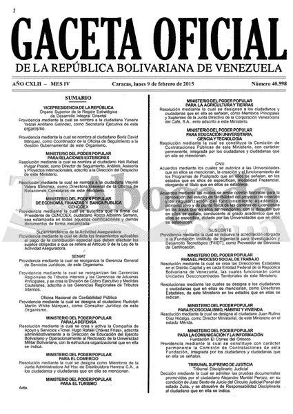 gaceta oficial 40893 ultimo aumento de sueldo minimo mundo tributario venezuela