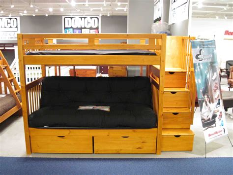 futon desk loft bed with futon and desk futon bunk beds