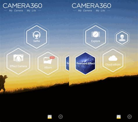 camera360 ultimate for android image gallery 360 android