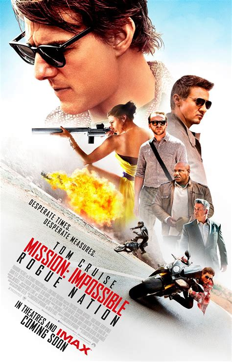 Poster Mission Impossible Rogue Nation 20x30cm Mission Impossible Rogue Nation Dvd Release Date
