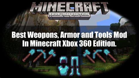 mods in minecraft xbox one edition best weapon and armor mod for minecraft xbox 360 edition