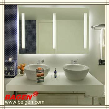 hotel bathroom mirrors hotel bathroom mirror with light modern bathroom vanity
