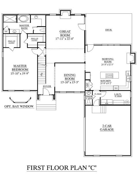 3 bedroom floor plans with bonus room pinterest the world s catalog of ideas