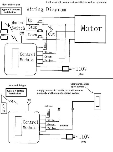 overhead door opener wiring diagrams wiring diagram with