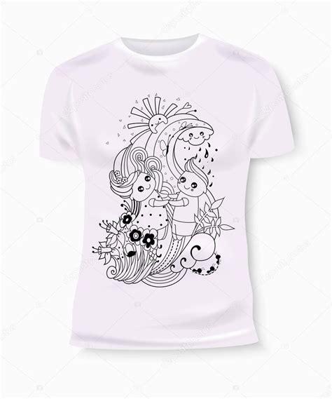 design t shirt and print t shirt print design with hand drawn boy and girl t shirt