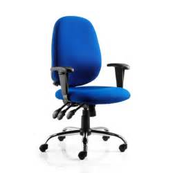 Blue Office Chairs Lisbon Blue Office Chair 15926 Furniture In Fashion
