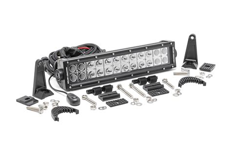 Rough Country 12 Inch Chrome Series Dual Row Cree Led 12 Led Light Bar