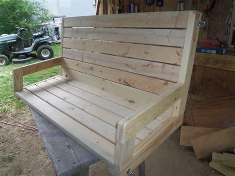 4 porch swing randy whittemire s 2 215 4 porch swing jays custom creations