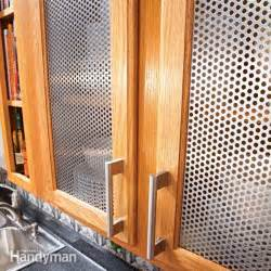 Kitchen Cabinet Glass Door Inserts Ideas For The Kitchen Cabinet Door Inserts The Family Handyman