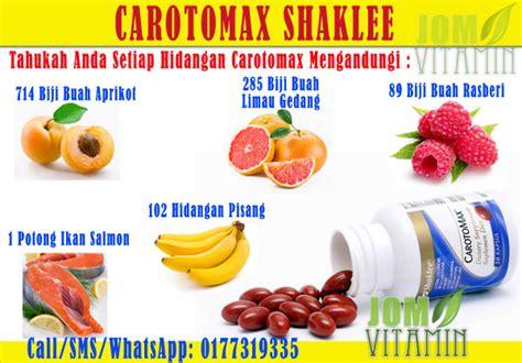 Vitamin Mata Shaklee carotomax shaklee jom vitamin