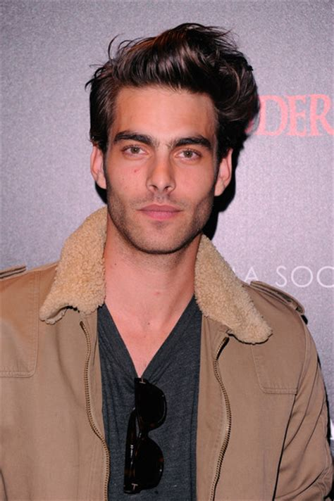 guys with big cheek bones jon kortajarena photos photos giorgio armani the