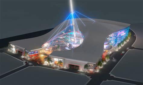 design concept las vegas arena concept architectural 3d rendering