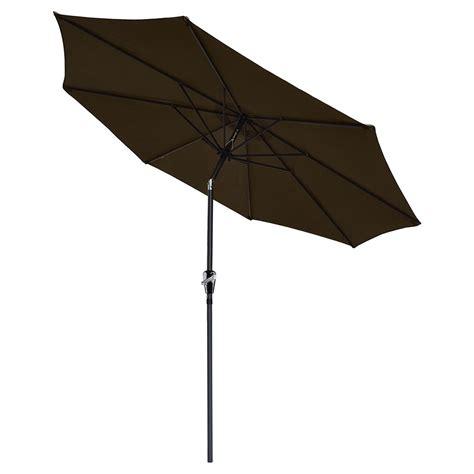 9ft 8 Ribs Patio Aluminum Umbrella Crank Tilt Outdoor 9ft Aluminum Outdoor Patio Umbrella Sunshade Market