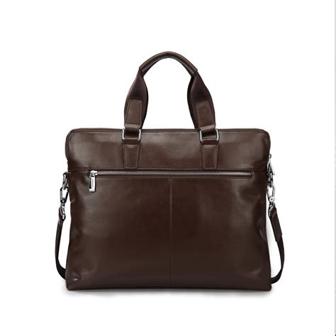 Cowhide Briefcase cowhide leather s briefcase brown