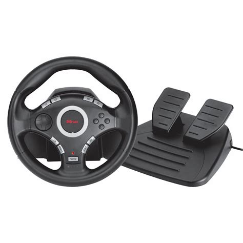 volante trust volante trust pedal gxt 27 steering wheel