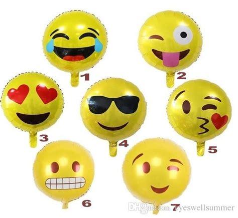 Balon Foil Emoji Birthday 18 expression balloons emoji foil balloon happy birthday