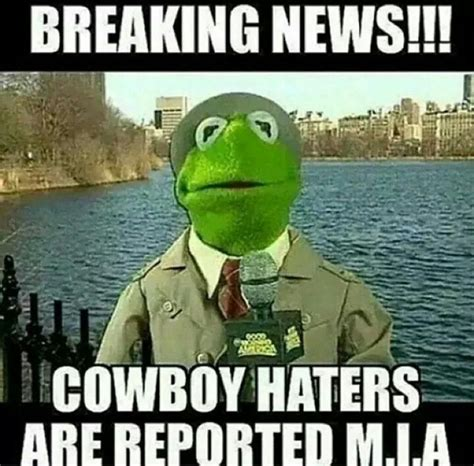 Cowboys Haters Meme - only hear crickets now where you at haters how bout dem cowboys pinterest cowboys