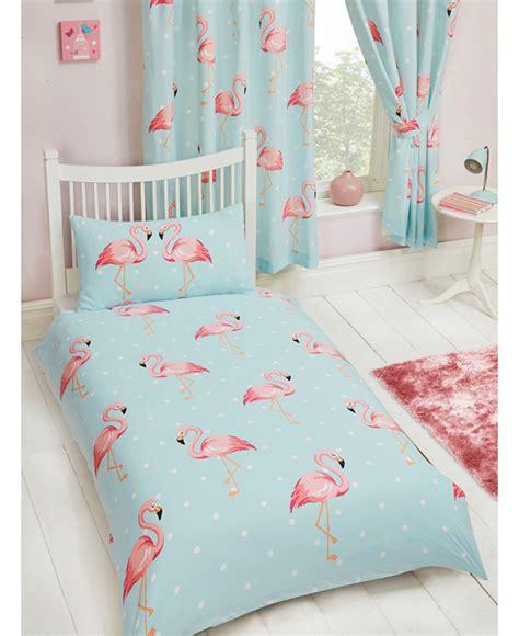 flamingo bedding fifi flamingo single duvet cover and pillowcase set