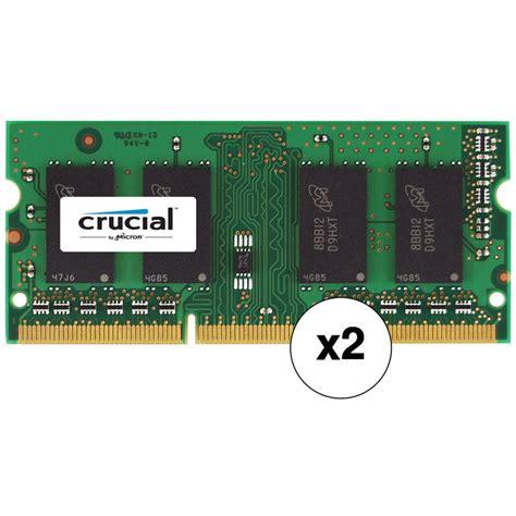 Crucial 8gb 2 X by Crucial 8gb Ddr3l 1866 Mhz Sodimm Memory Kit 2 X 4gb B H