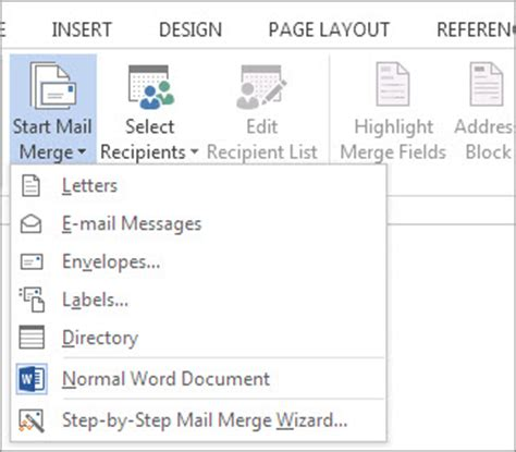 how to create a mail merge template in word 2010 mail merge using an excel spreadsheet word