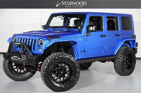 starwood jeep blue starwood motors 2016 jeep wrangler unlimited rubicon