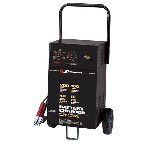 schumacher 6 12 volt 40 automatic battery charger se