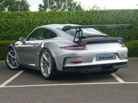 silver porsche gt3 silver porsche 991 gt3 rs listed for 450 000 dpccars