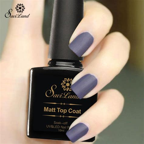 best matte top coat nail saviland 1pcs uv gel nails matte top coat matte nail