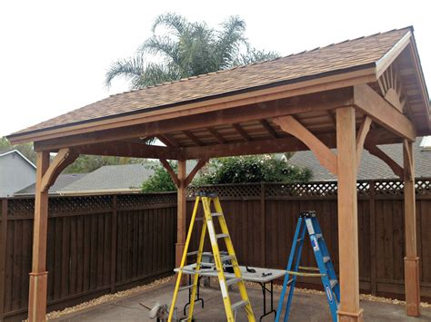 Gable Roof Gazebo Gazebo With Gable Roof Built In 3 Days Diy Backyard