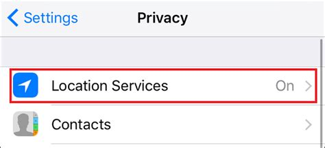 iphone location services    helpful