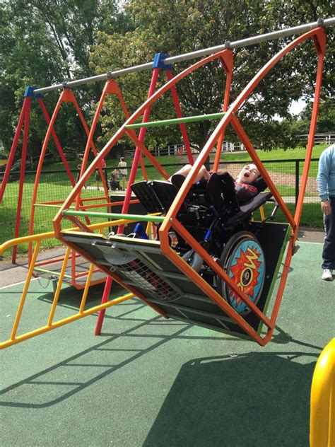 swing for wheelchair users inclusive play abilityswing wheelchair swing