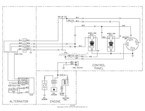 100 generac gp5500 wiring diagram generac 5500 watt