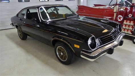 1975 chevy vega 1975 chevrolet vega cosworth 0735 4925 miles black 2 dr